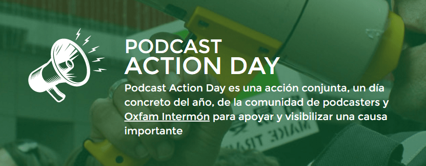 #Podcastactionday